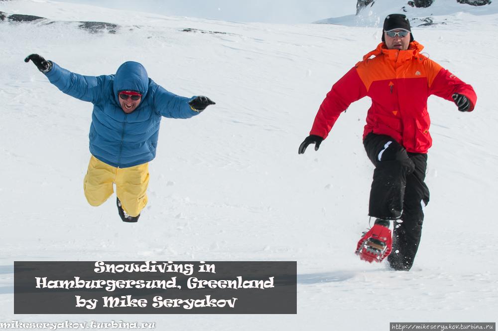 Сноудайвинг в Хамбургерзунде Гренландия