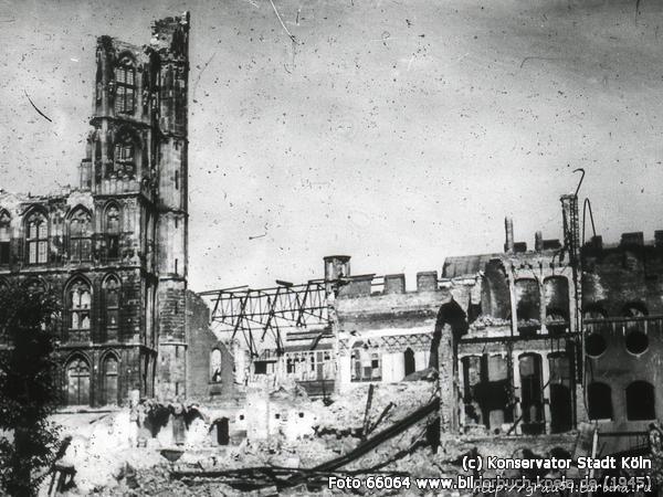 Ратуша 1945 год  (из Инте