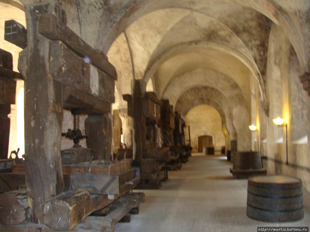 Mонастырь Эбербах Эльтвилль, Германия