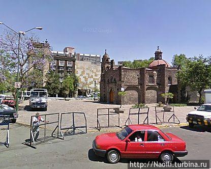 Площадь Тлакскоаке в 2009 году — фото из интернет