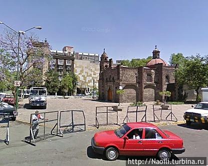Площадь Тлакскоаке в 2009