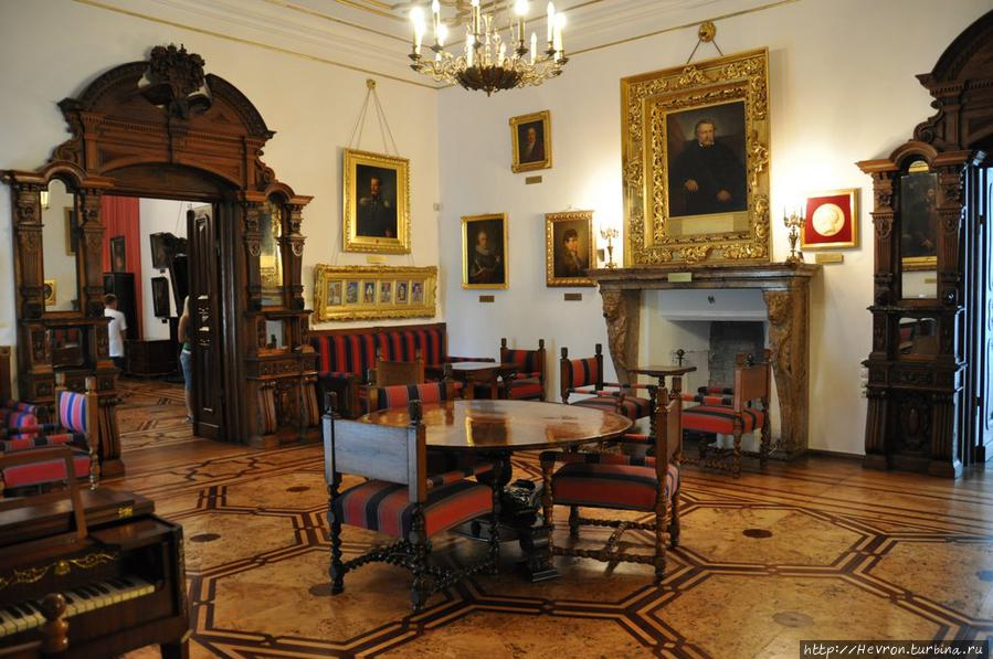 Комната Селестины Дзялинской, а позже – ее дочери Ядвиги Замойской. Фото из интернета.
