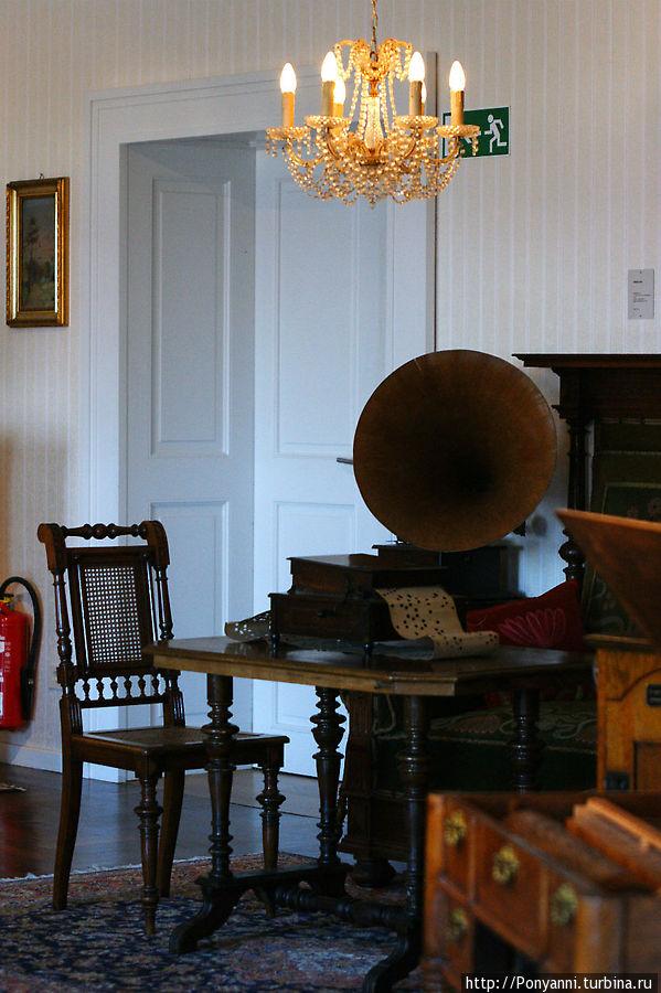 Ну и старый добрый граммофон.1916 год. Брухзаль, Германия