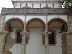 Фасад Королевского Дворца Дон Мануэл в городе Эвора.