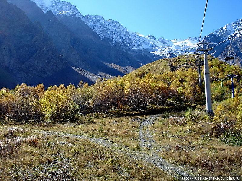 Ледник Цейский — самый низкий и его брат Сказский Цей, Россия
