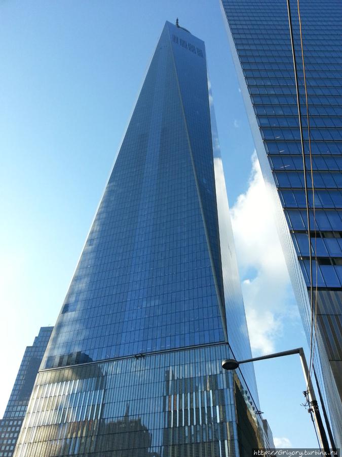 Новое здание  WTC