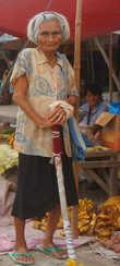 Пожилая филиппинка