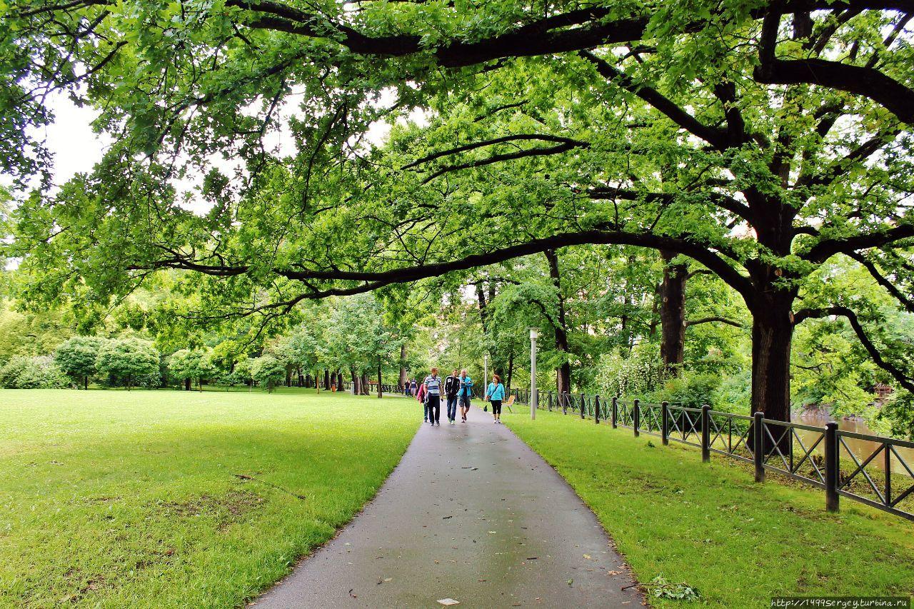 Городской парк и неразгаданные тайны его безымянных ангелов