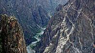 Черный Каньон, Колорадо. Магматические породы.