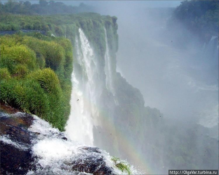 Аргентина — водопад Игуас