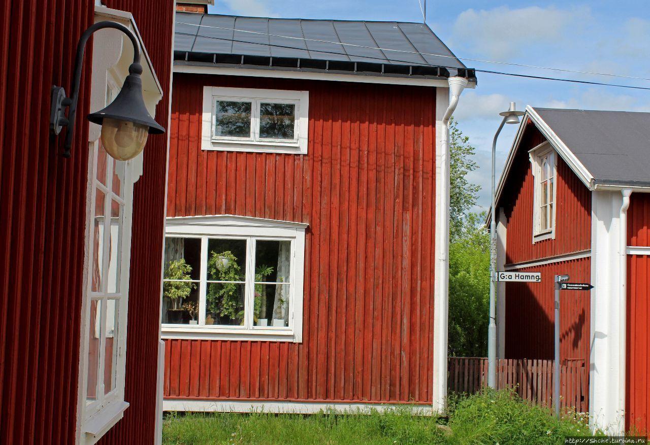 Гаммельщтадт, Швеция
