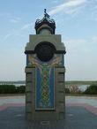 Памятник в честь первого упоминания Себежа в летописи 600 лет назад