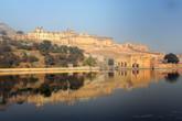 Крепость-форт Амбер ранним утром
