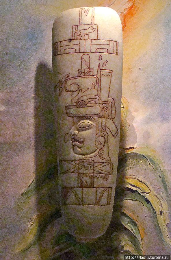 Пластина Симоховель с изображением воина ольмеков, 600 год до н.э.