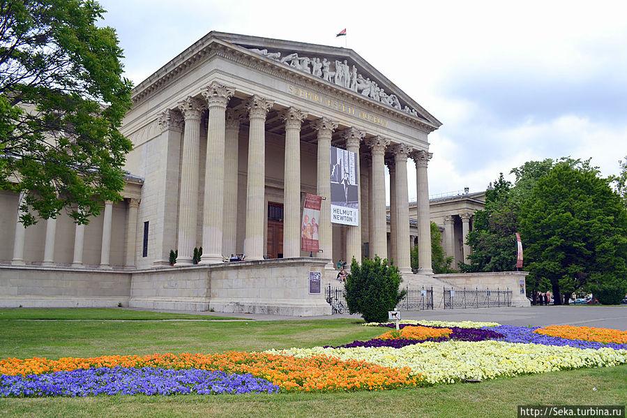 Здание музея изобразительных искусств