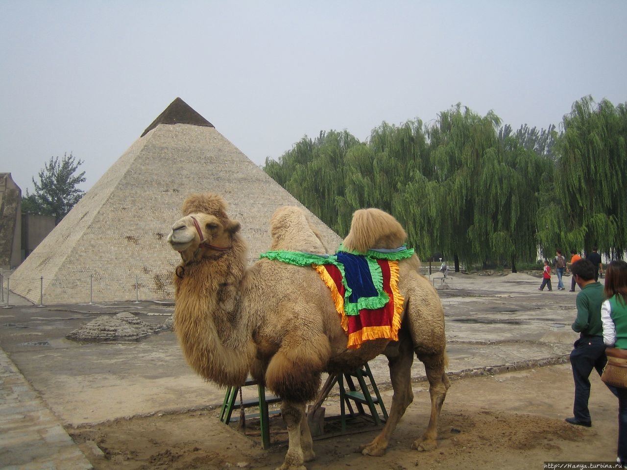 Пекин. Парк Миниатюр.Егип