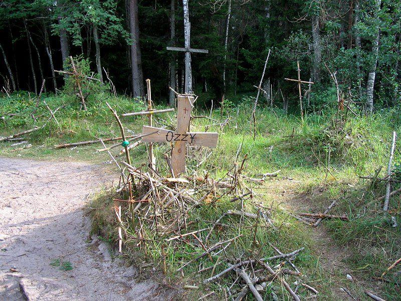 Гора крестов летом
