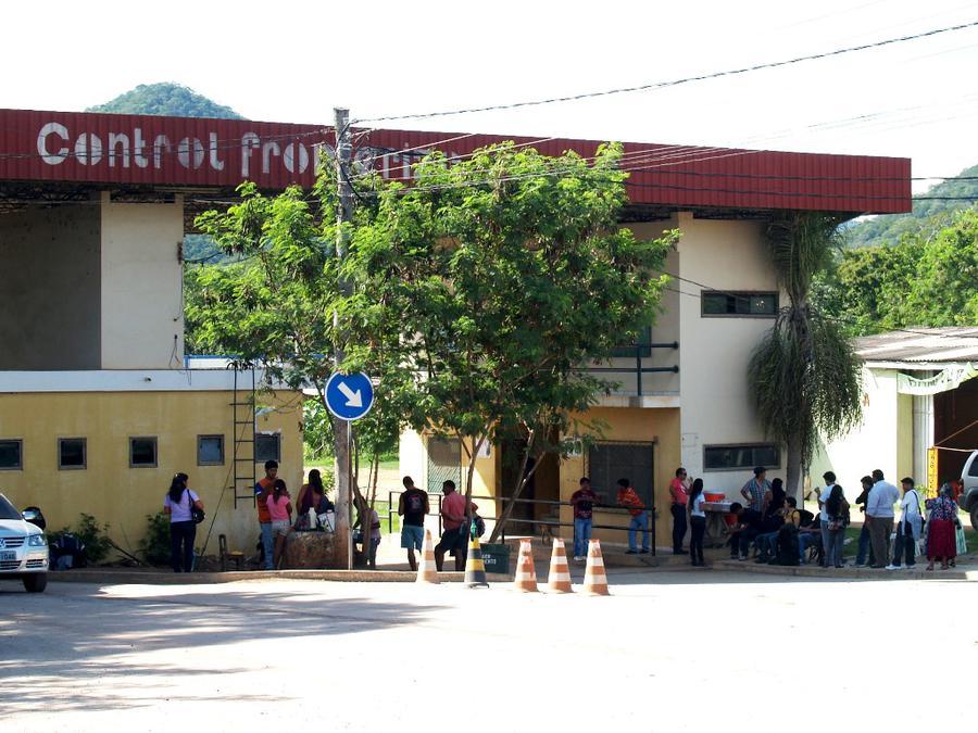 Боливийский контрольный пункт