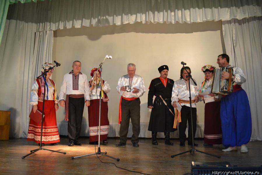 Концерт украинской песни
