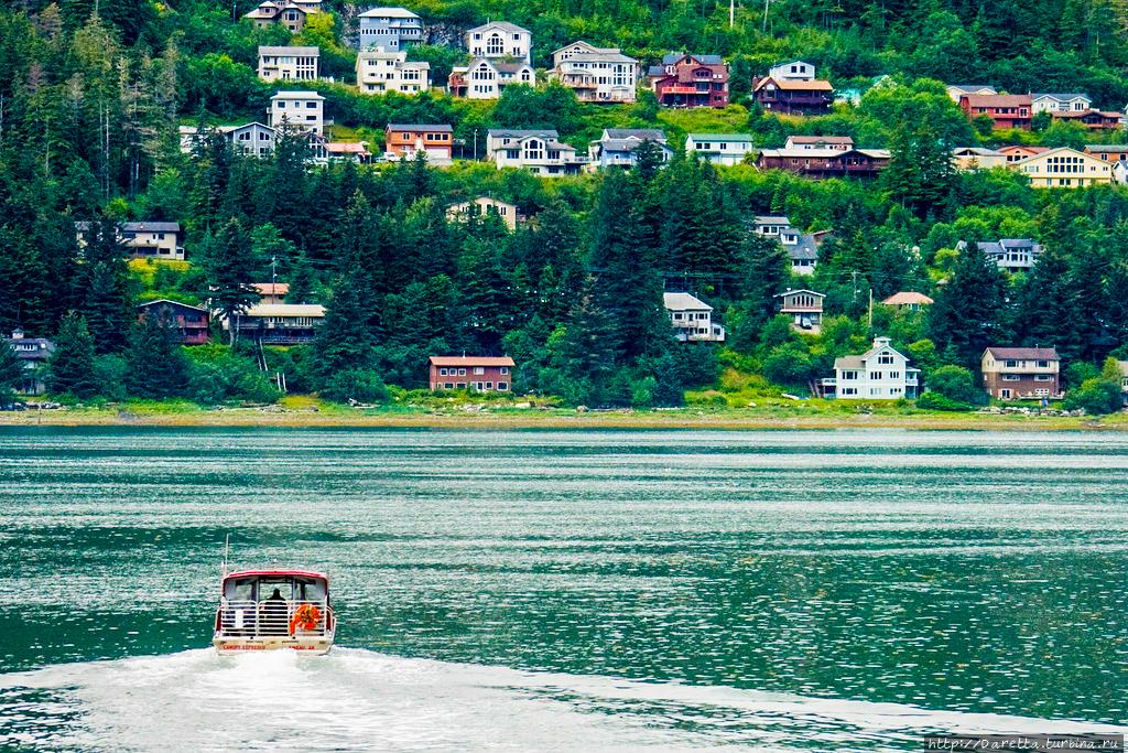 Круиз на Аляску. Дочь Снегов Штат Аляска, CША