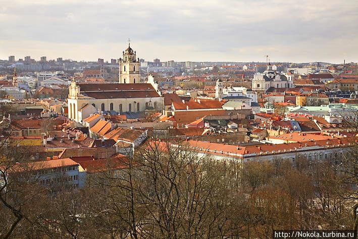 Вильнюс осенью, зимой и весной Вильнюс, Литва