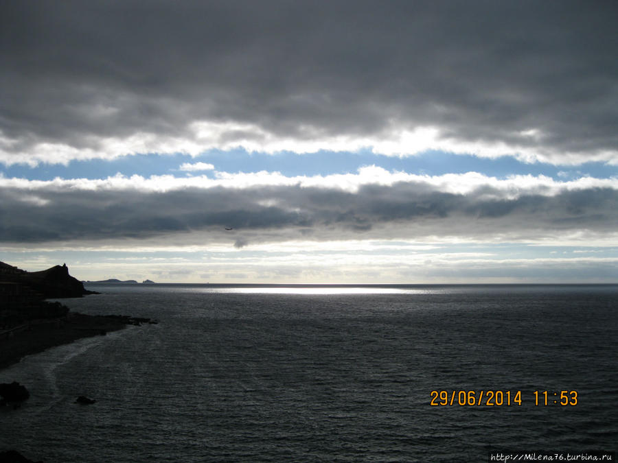 Рассвет. Вид с балкона