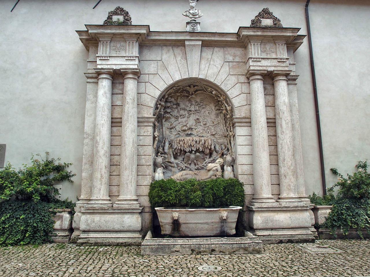 100 фонтанов Тиволи Тиволи, Италия
