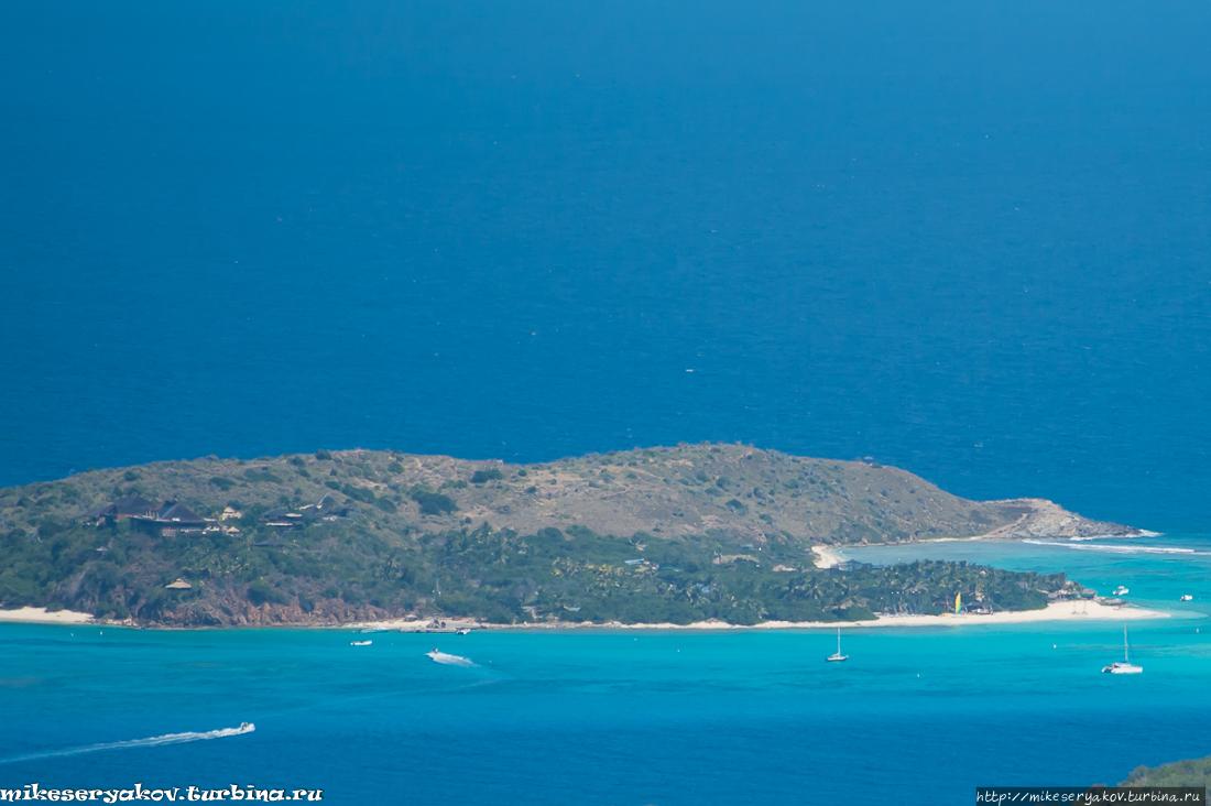 Карибский Верджин-Горда Остров Вёрджин-Горда, Британские Виргинские острова