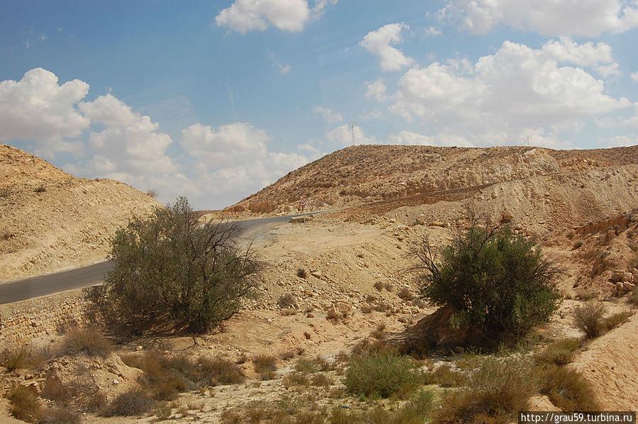 Пустыня в окрестностях Матматы