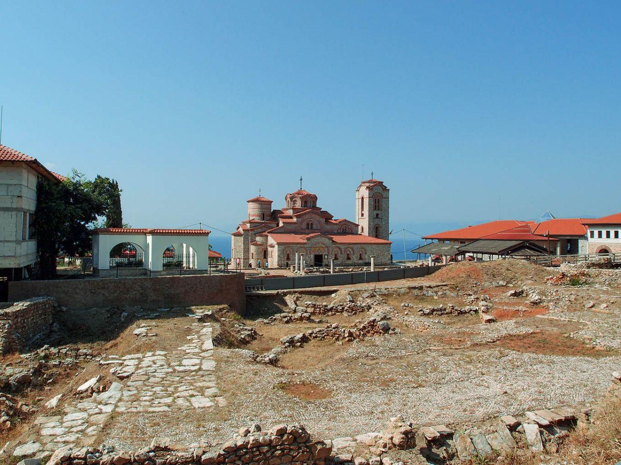 Самуилова твердина Охрид, Македония