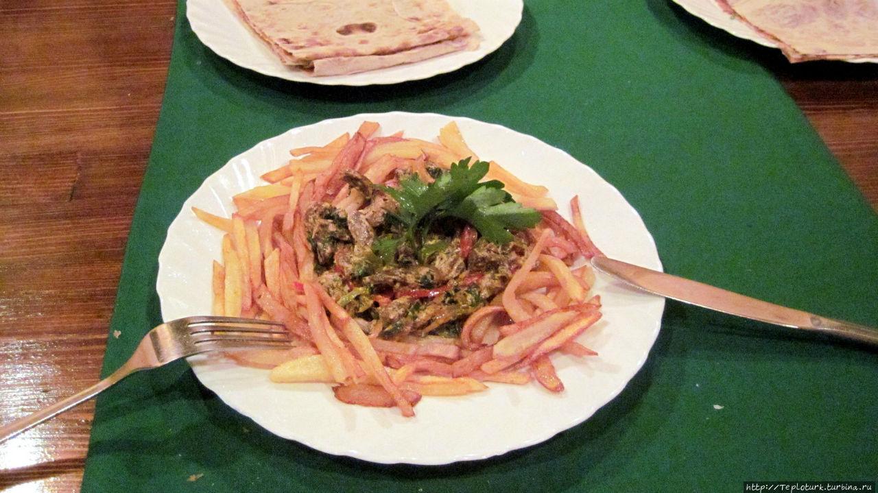 Вкусная хашлама из говядины Алания, Турция