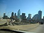 Фривей на въезде в Даунтаут Даллас (случайная фотография)