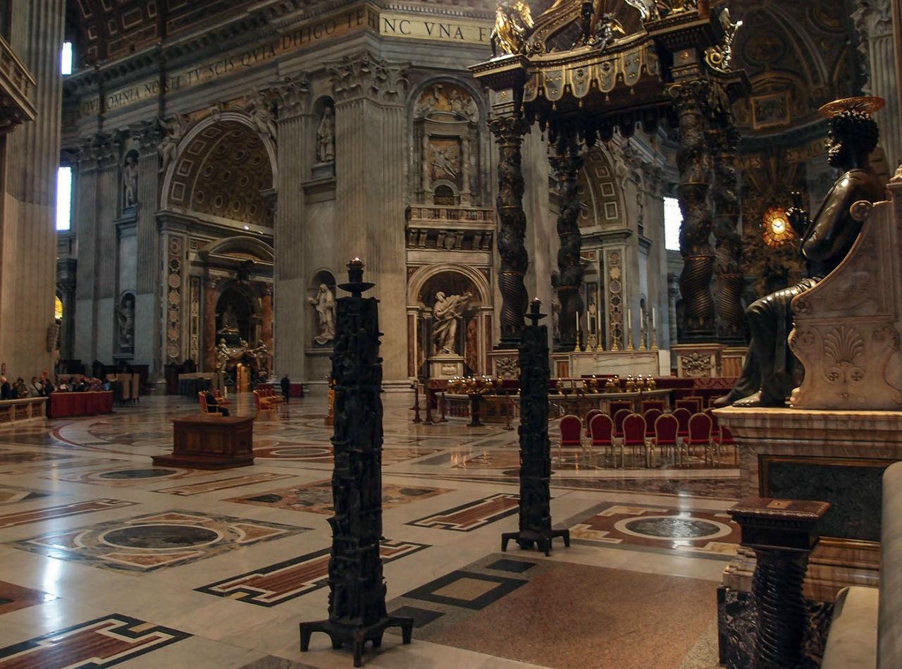 Ватикан. Серый день, белый мрамор Пьеты́ Ватикан (столица), Ватикан