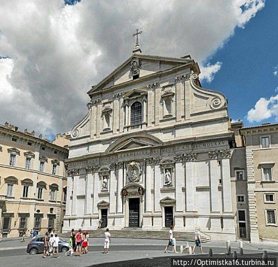 Церковь Иль-Джезу в Риме (фото из интернета)