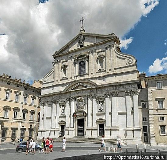 Церковь Иль-Джезу в Риме<br />