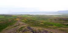 Окружающий пейзаж крепости Боргарвирки
