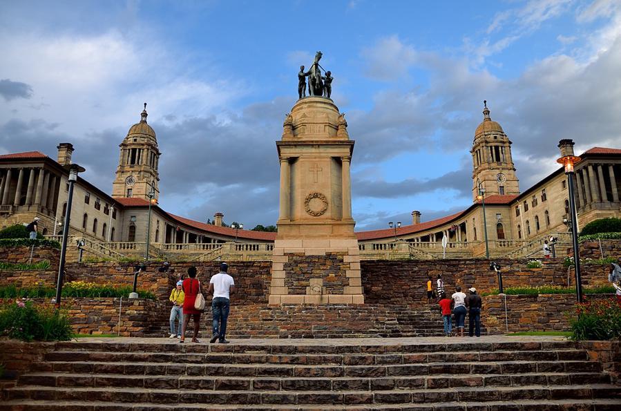 Президентский дворец Юнион-Билдинг Претория, ЮАР