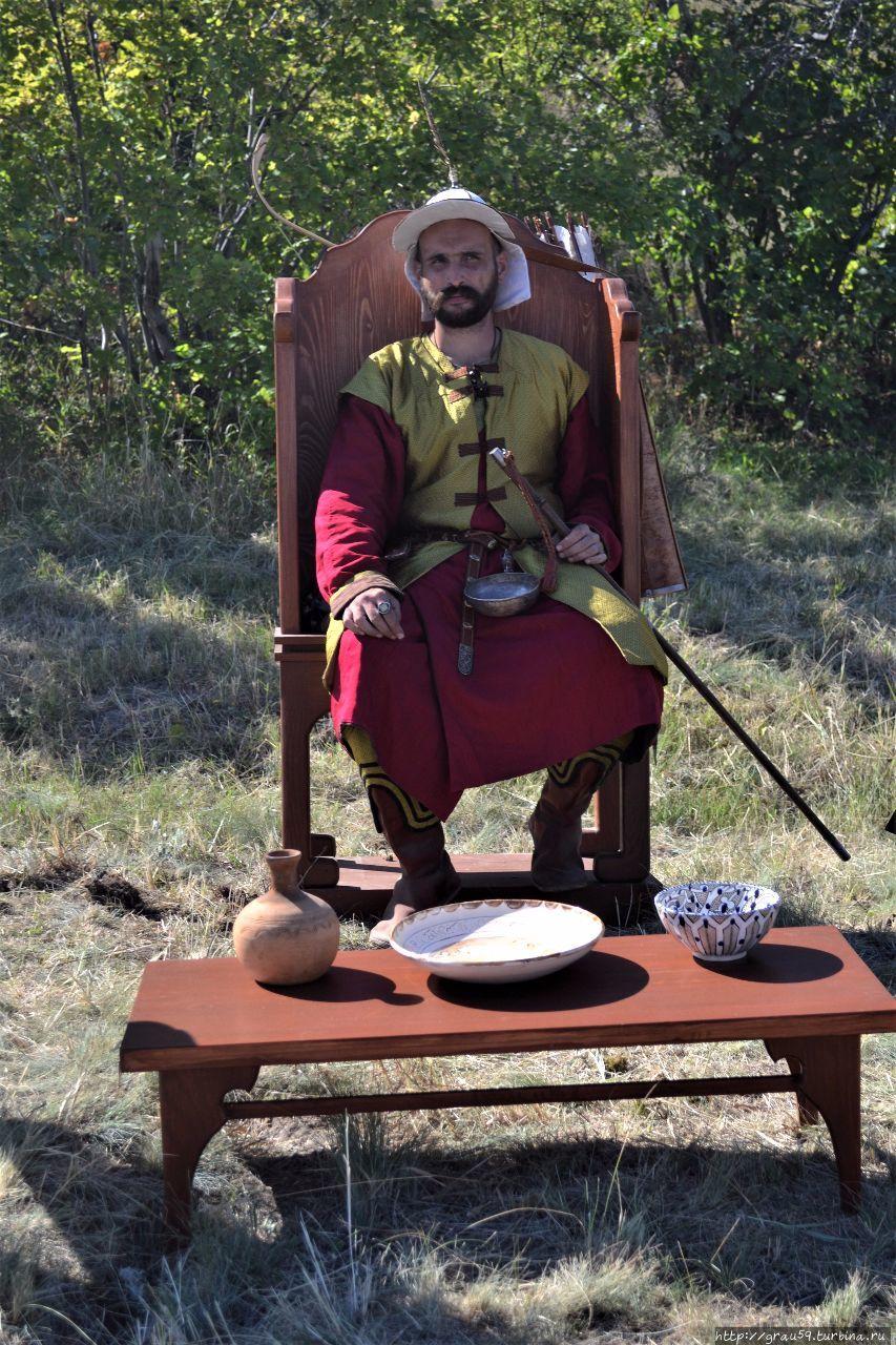 Укекское городище XIII-XIV век Саратов, Россия
