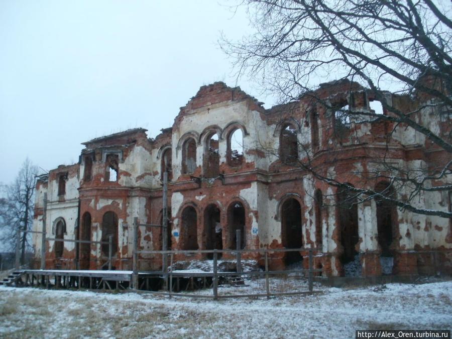 Владельцами усадьбы в разное время были фельдмаршал Миних, гетман Разумовский, полковник А. М. Потёмкин, барон Врангель, заводчик Сименс.