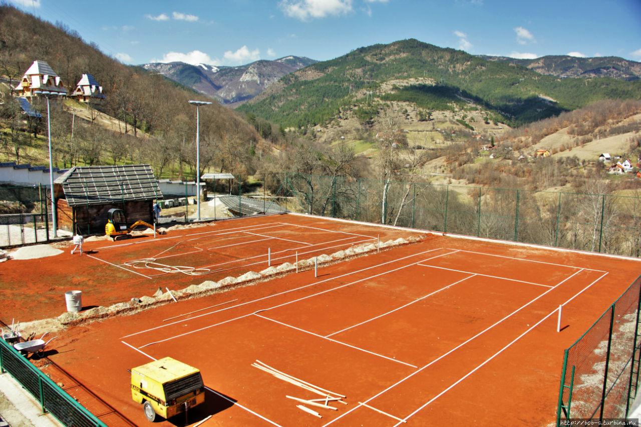 Теннис в Сербии в почёте!