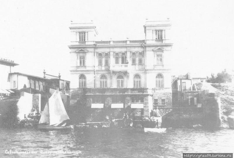 Старое здание биологической станции (фото из Интернета)