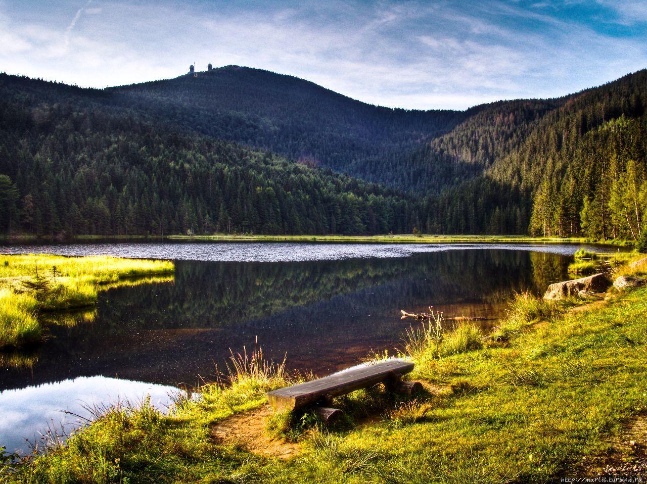 Большое Арберское озеро,