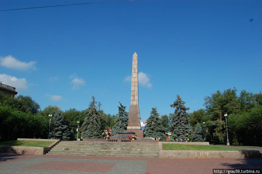 Площадь Павших Борцов Волгоград, Россия