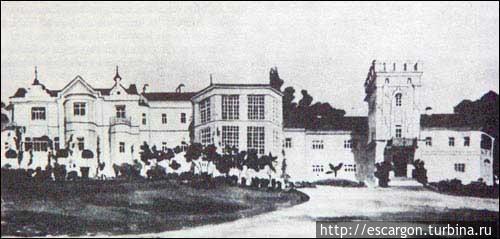 Дворцово-парковый комплек