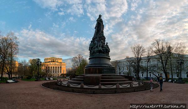 Екатерининский сквер Санкт-Петербург, Россия