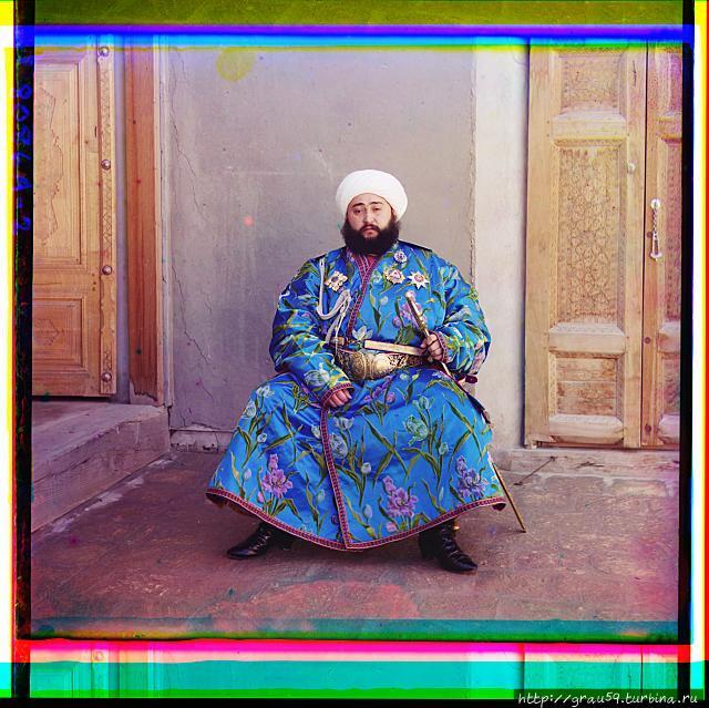 Бухарский эмир Сейид Мир Мухаммед Алим-хан (фото из Интернета)