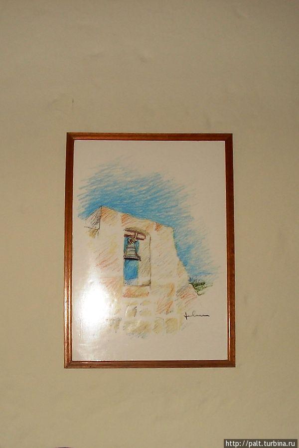 Ну, и конечно, как в каждом уважаемом отеле Перу, картины с национальным уклоном.