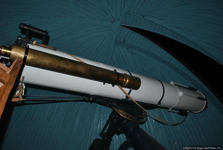 Самый большой действующий телескоп рефракторного типа в России