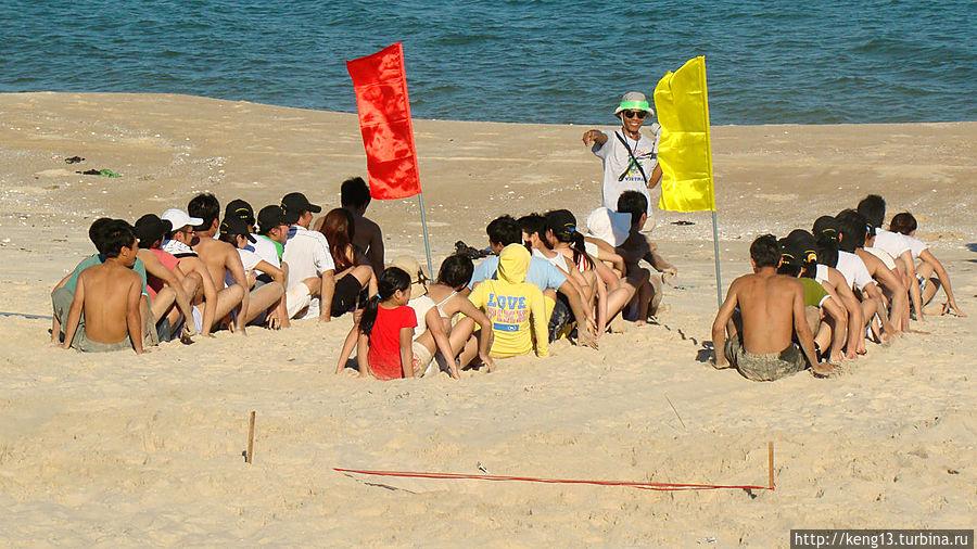 Пару дней, был заезд шумной вьетнамской компании, забавные ребята :-)