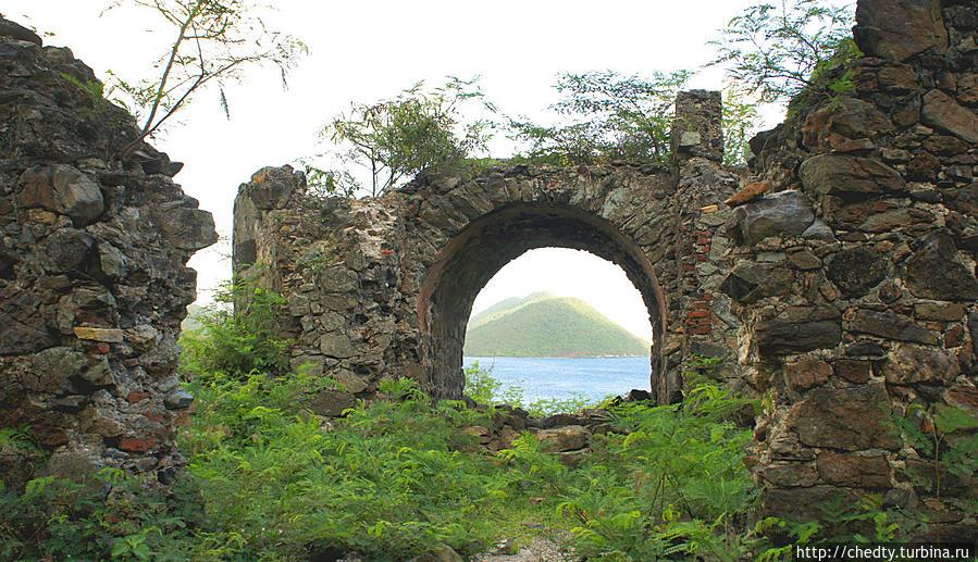 Суть острова. Моравские Братья Крус-Бей, Виргинские острова